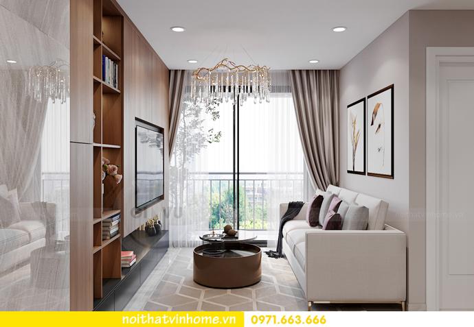 thiết kế nội thất căn hộ Vinhomes Smart City tòa S202 căn 17 3
