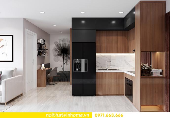 thiết kế nội thất căn hộ Vinhomes Smart City tòa S202 căn 17 5