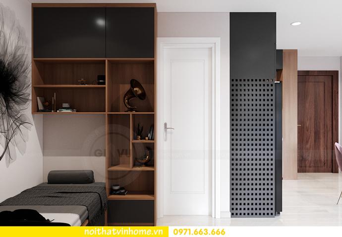 thiết kế nội thất căn hộ Vinhomes Smart City tòa S202 căn 17 7