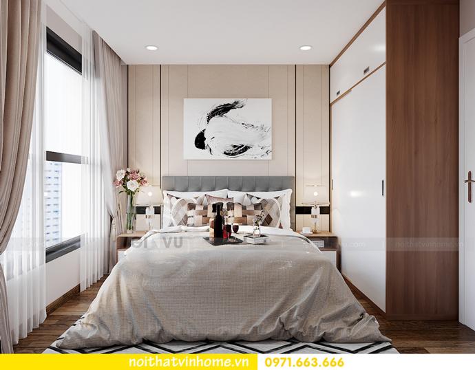 thiết kế nội thất căn hộ Vinhomes Smart City tòa S202 căn 17 9