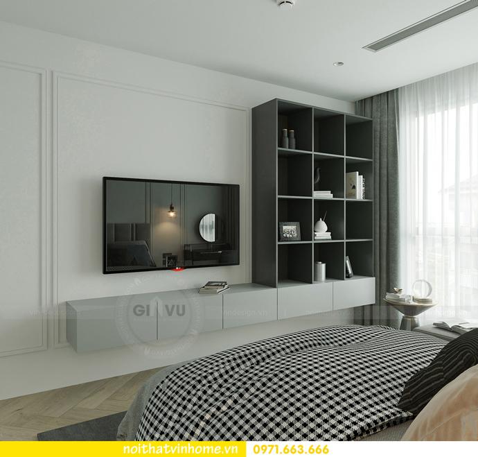 thiết kế nội thất căn hộ Vinhomes Smart City tòa S102 căn 17 11
