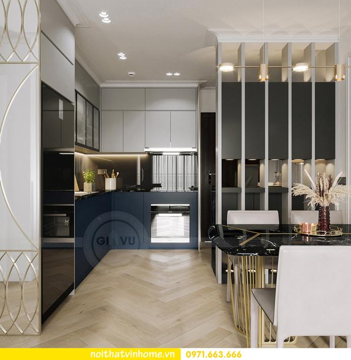thiết kế nội thất căn hộ Vinhomes Smart City tòa S102 căn 17 2