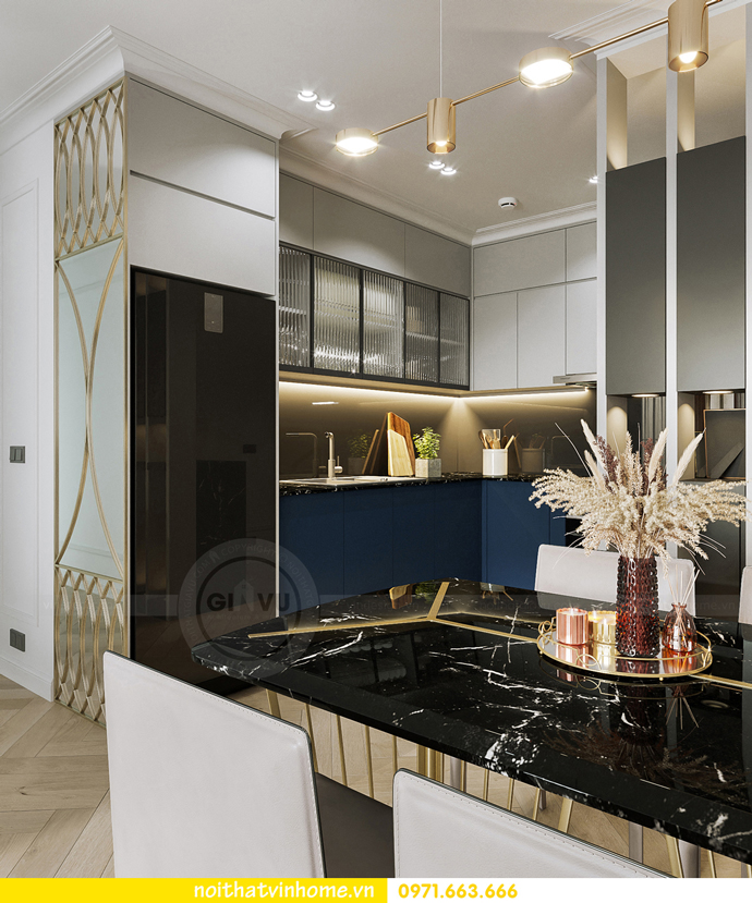thiết kế nội thất căn hộ Vinhomes Smart City tòa S102 căn 17 3