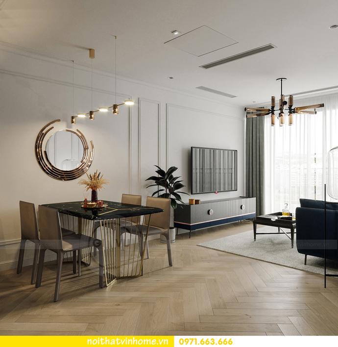 thiết kế nội thất căn hộ Vinhomes Smart City tòa S102 căn 17 5