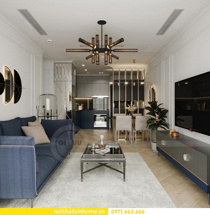 thiết kế nội thất căn hộ Vinhomes Smart City tòa S102 căn 17 6