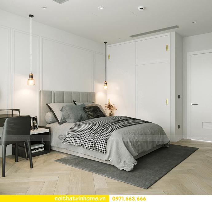 thiết kế nội thất căn hộ Vinhomes Smart City tòa S102 căn 17 9