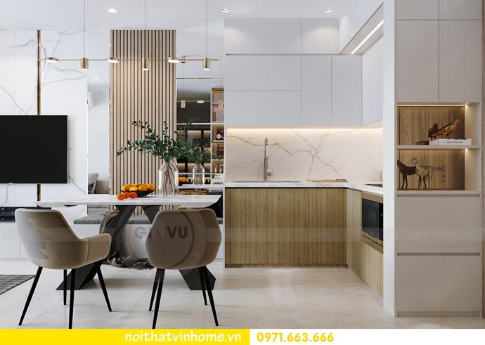 thiết kế và thi công nội thất Smart City tòa S201 căn 2903 1