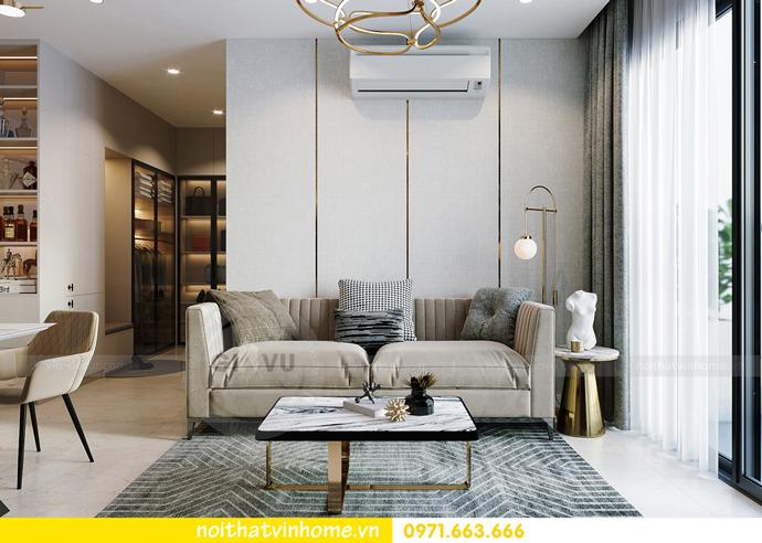 thiết kế và thi công nội thất Smart City tòa S201 căn 2903 5