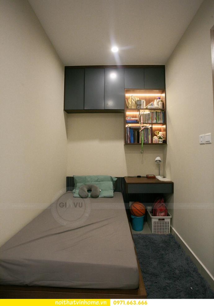 thi công nội thất căn hộ Vinhomes Smart City nhà anh Hân 13