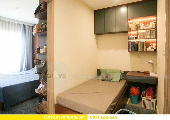 thi công nội thất căn hộ Vinhomes Smart City nhà anh Hân 14