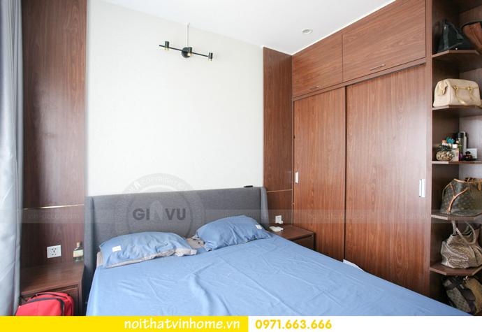 thi công nội thất căn hộ Vinhomes Smart City nhà anh Hân 15