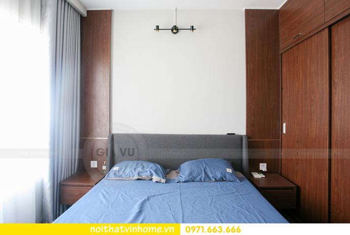 thi công nội thất căn hộ Vinhomes Smart City nhà anh Hân 16