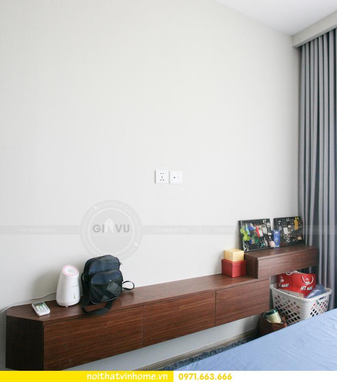 thi công nội thất căn hộ Vinhomes Smart City nhà anh Hân 17