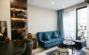 thi công nội thất căn hộ Vinhomes Smart City nhà anh Hân