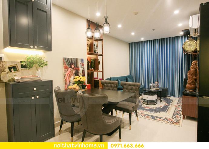 thi công nội thất căn hộ Vinhomes Smart City nhà anh Hân 6