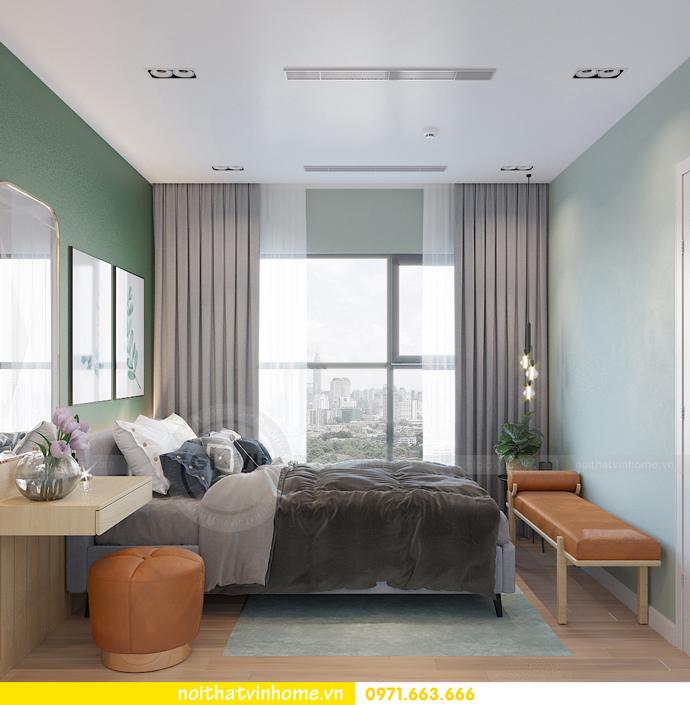 thiết kế nội thất chung cư Vinhomes Smart City tòa S101 căn 11 10