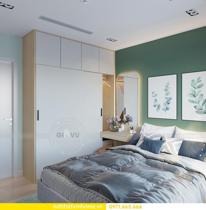thiết kế nội thất chung cư Vinhomes Smart City tòa S101 căn 11 11