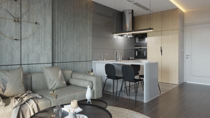 thiết kế nội thất chung cư Vinhomes Smart City tòa S101 căn 11