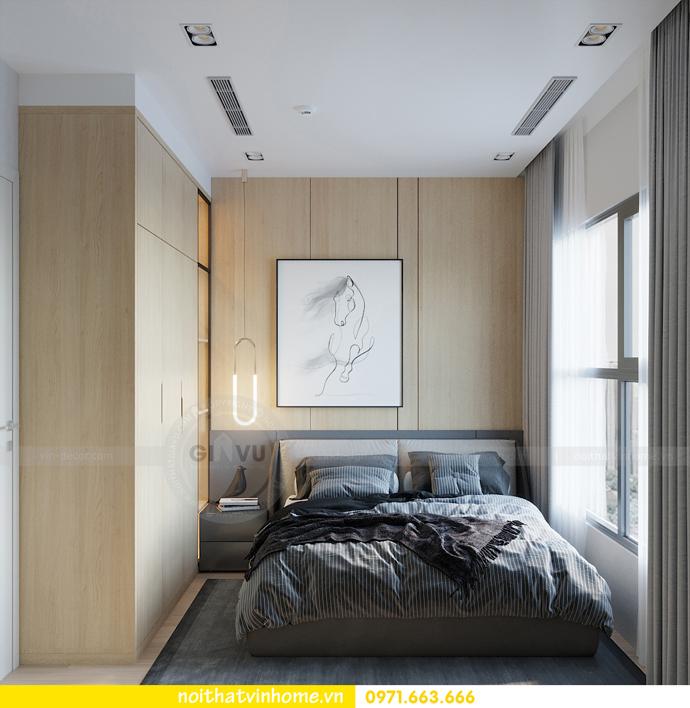 thiết kế nội thất chung cư Vinhomes Smart City tòa S101 căn 11 6