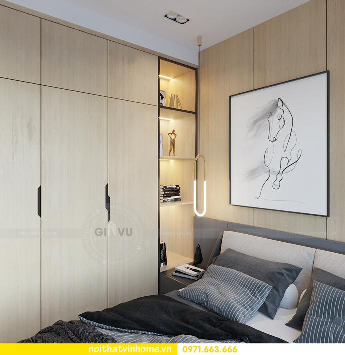 thiết kế nội thất chung cư Vinhomes Smart City tòa S101 căn 11 7