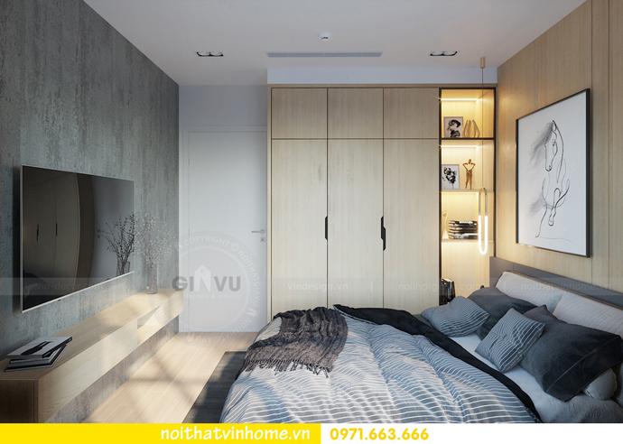 thiết kế nội thất chung cư Vinhomes Smart City tòa S101 căn 11 8