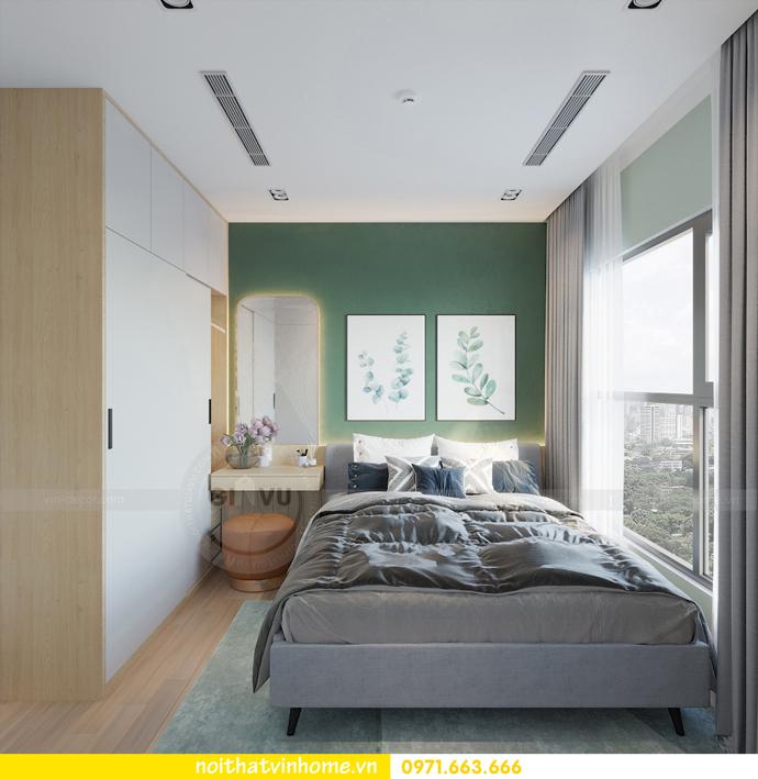 thiết kế nội thất chung cư Vinhomes Smart City tòa S101 căn 11 9
