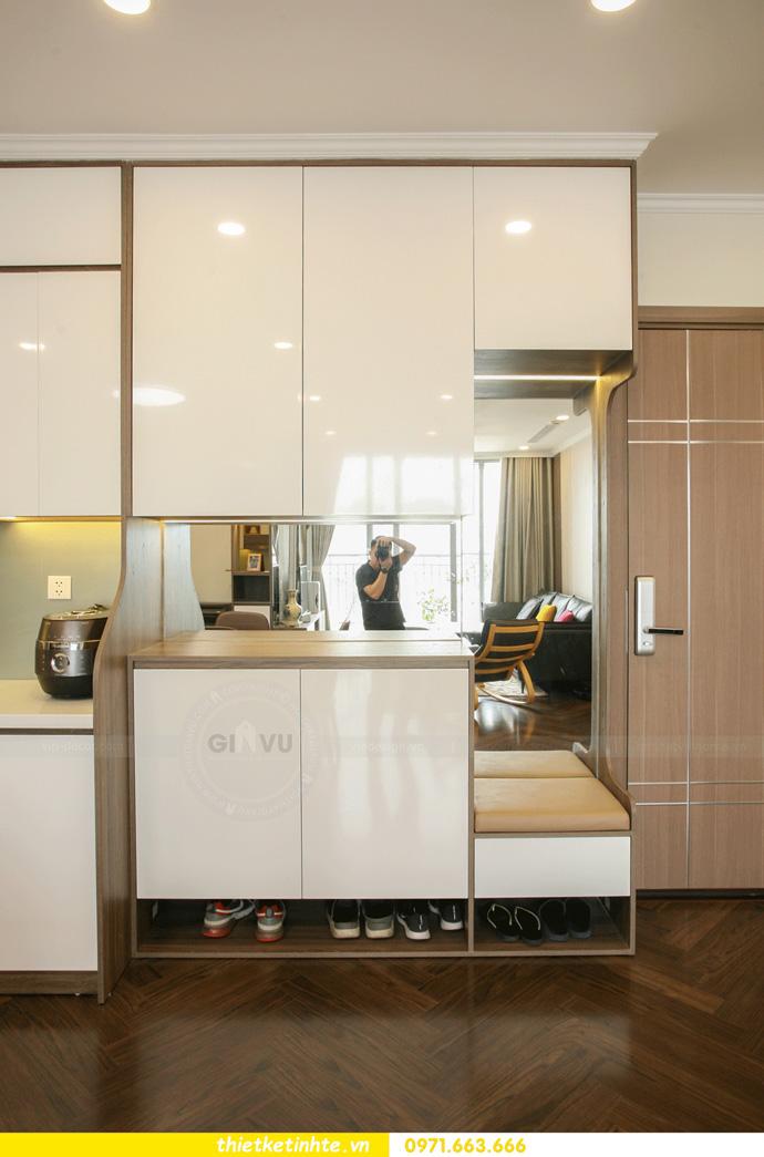 thi công nội thất căn hộ Vinhomes Smart City thực tế 1