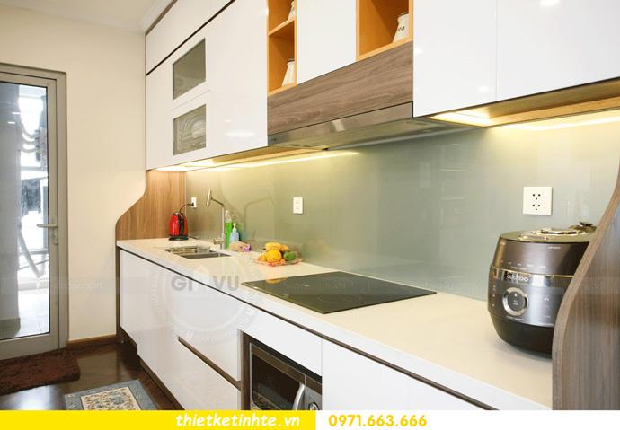 thi công nội thất căn hộ Vinhomes Smart City thực tế 12