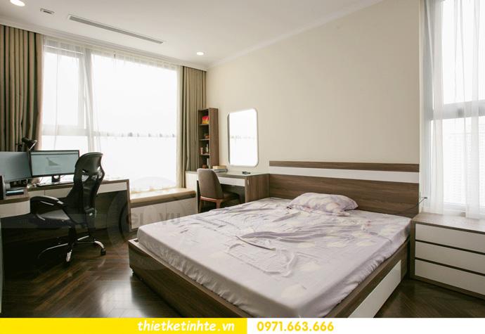 thi công nội thất căn hộ Vinhomes Smart City thực tế 14