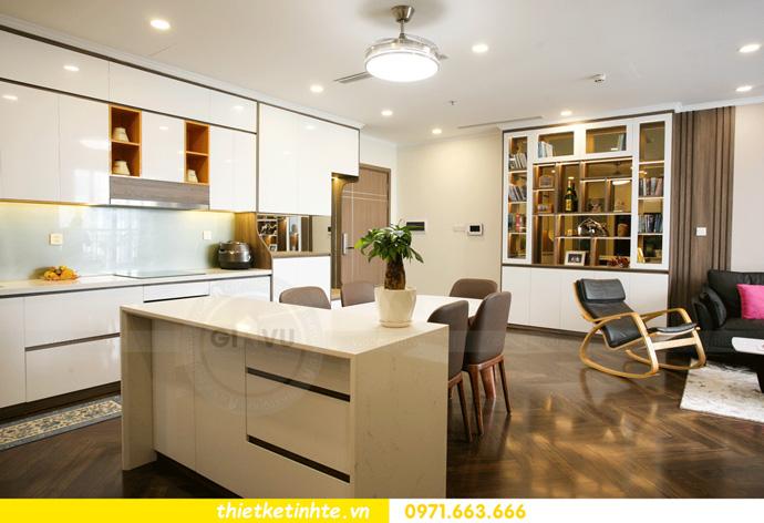 thi công nội thất căn hộ Vinhomes Smart City thực tế 8